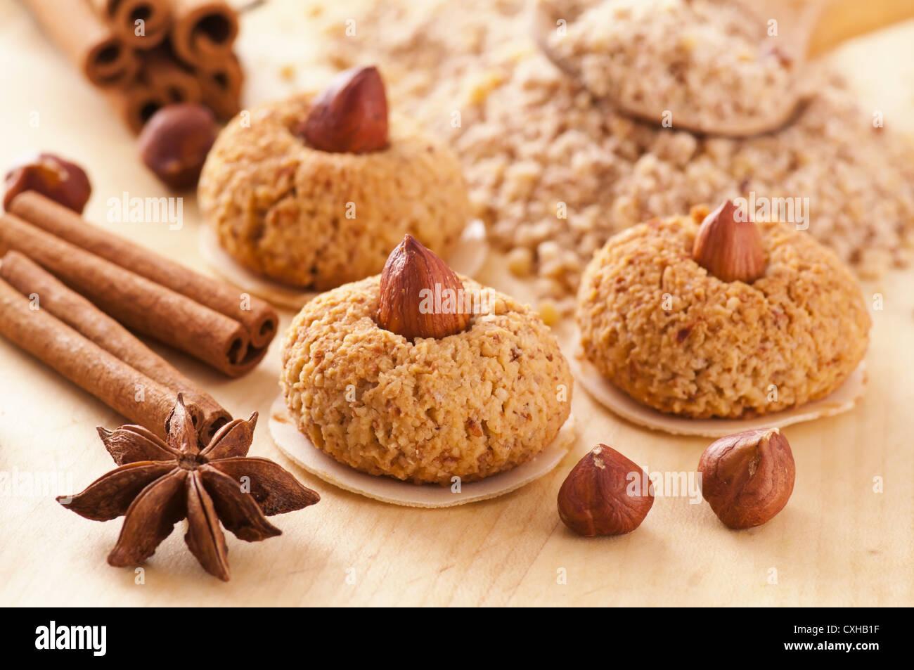 Weihnachtsplätzchen Zutaten.Weihnachtsplätzchen Mit Zutaten Stockfoto Bild 50783643 Alamy