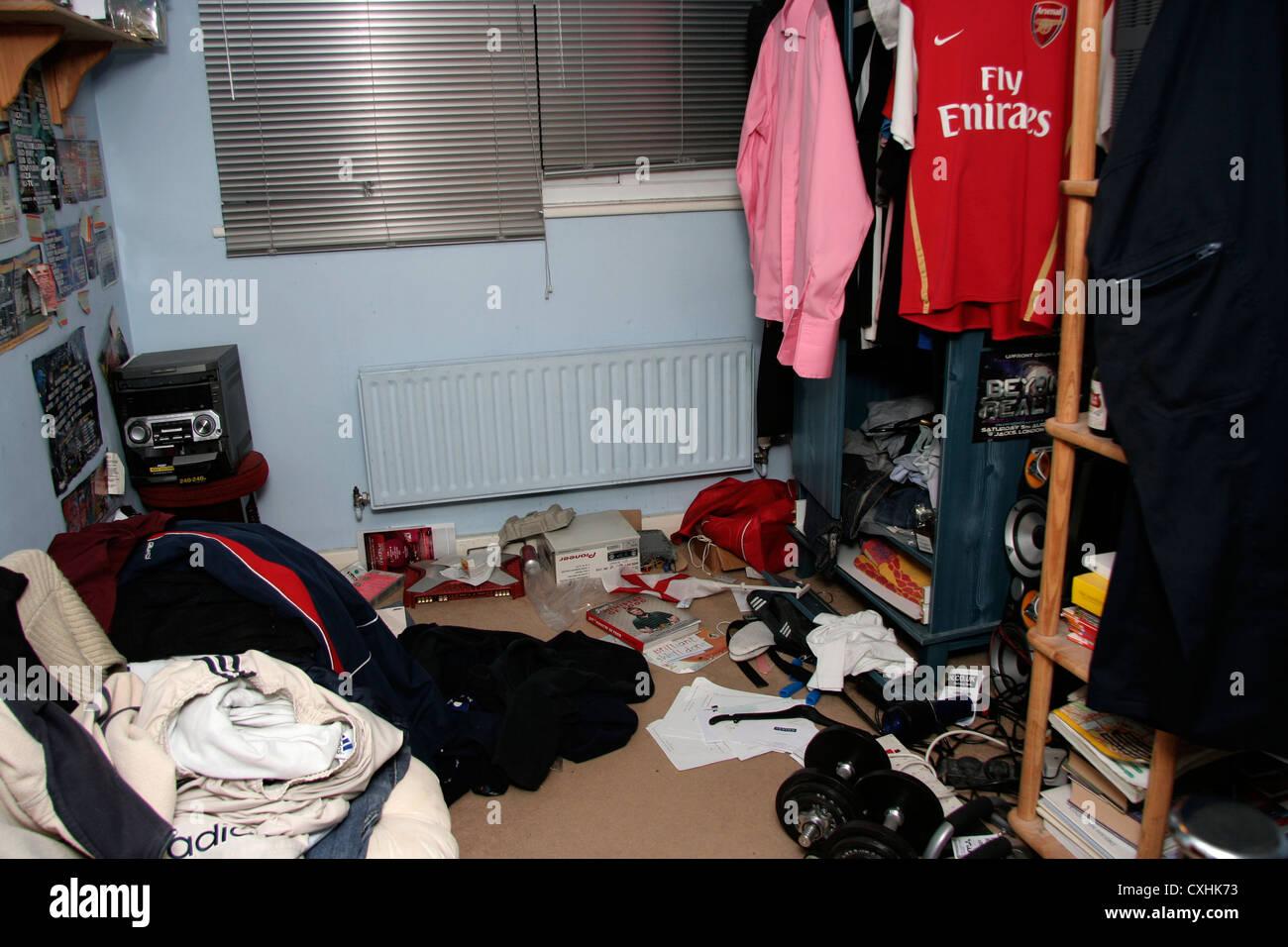 Eine Unordentliche Teenager Zimmer