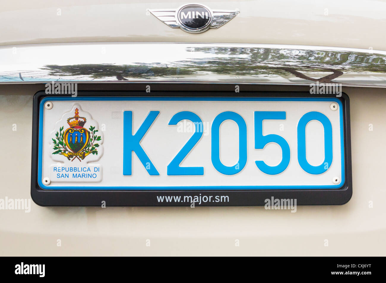Car Number Plate Stockfotos & Car Number Plate Bilder - Alamy