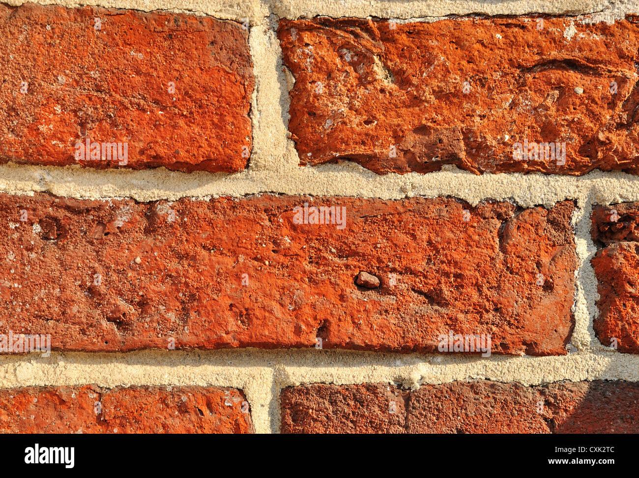 Mauerwerk-Nahaufnahme Stockbild
