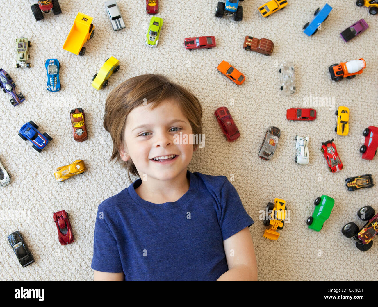 Toy cars stockfotos bilder alamy