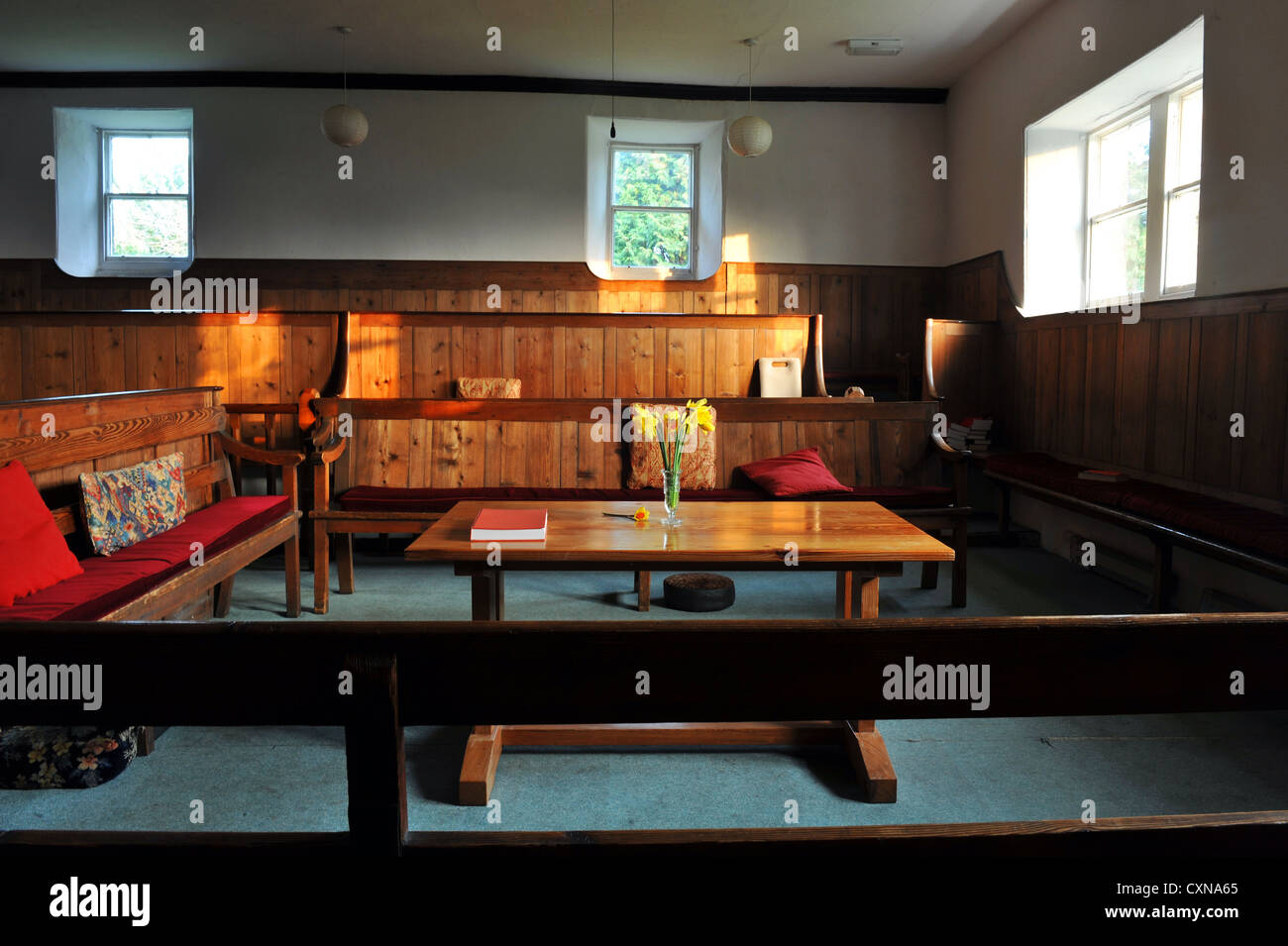 Quaker Meeting House, Rawden, Leeds UK Stockbild
