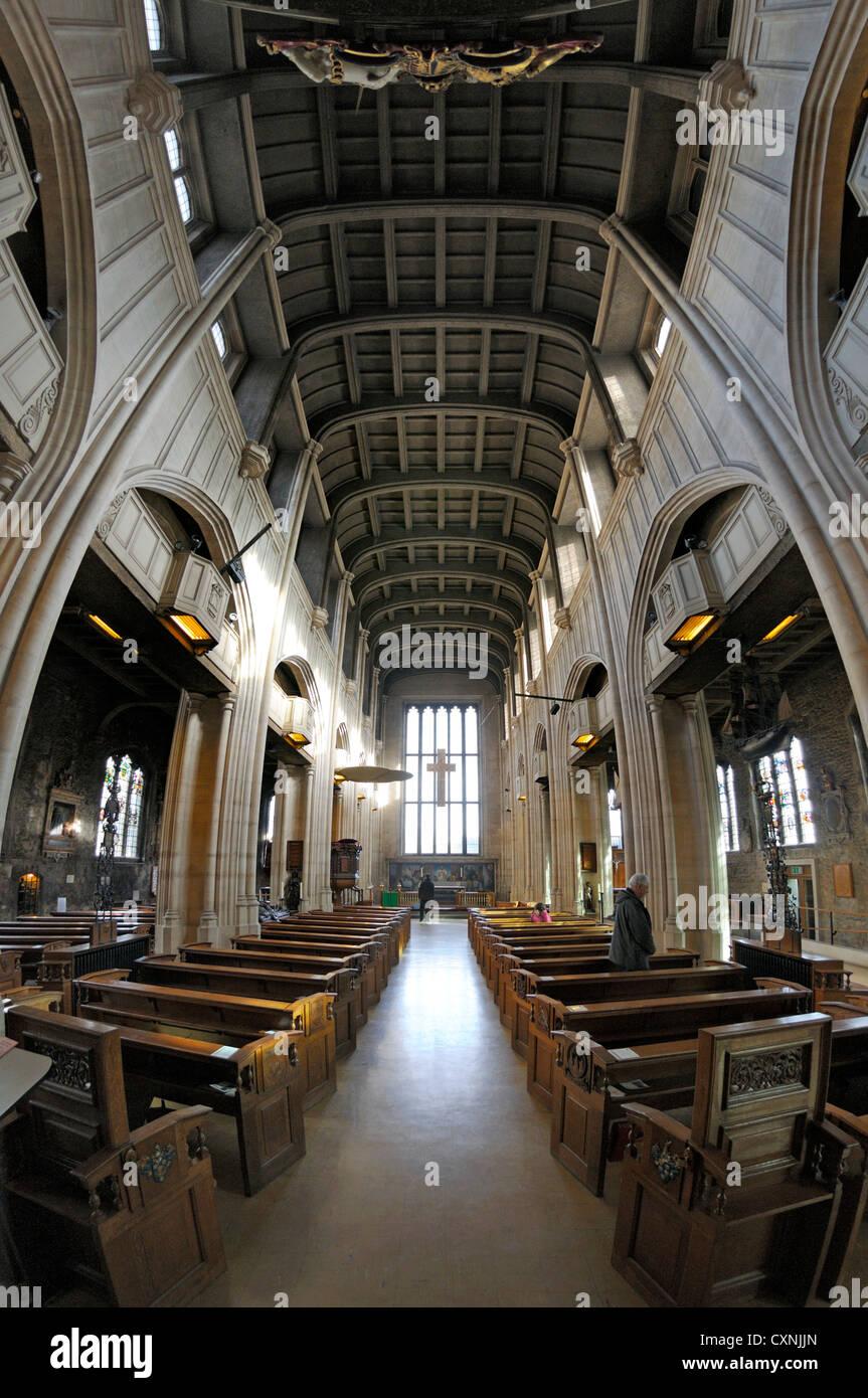 London, England, Vereinigtes Königreich. Kirche von All Hallows-by ...