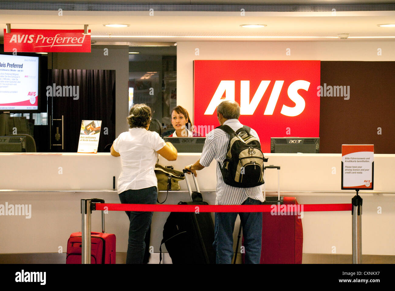 Avis Rental Stockfotos Avis Rental Bilder Alamy