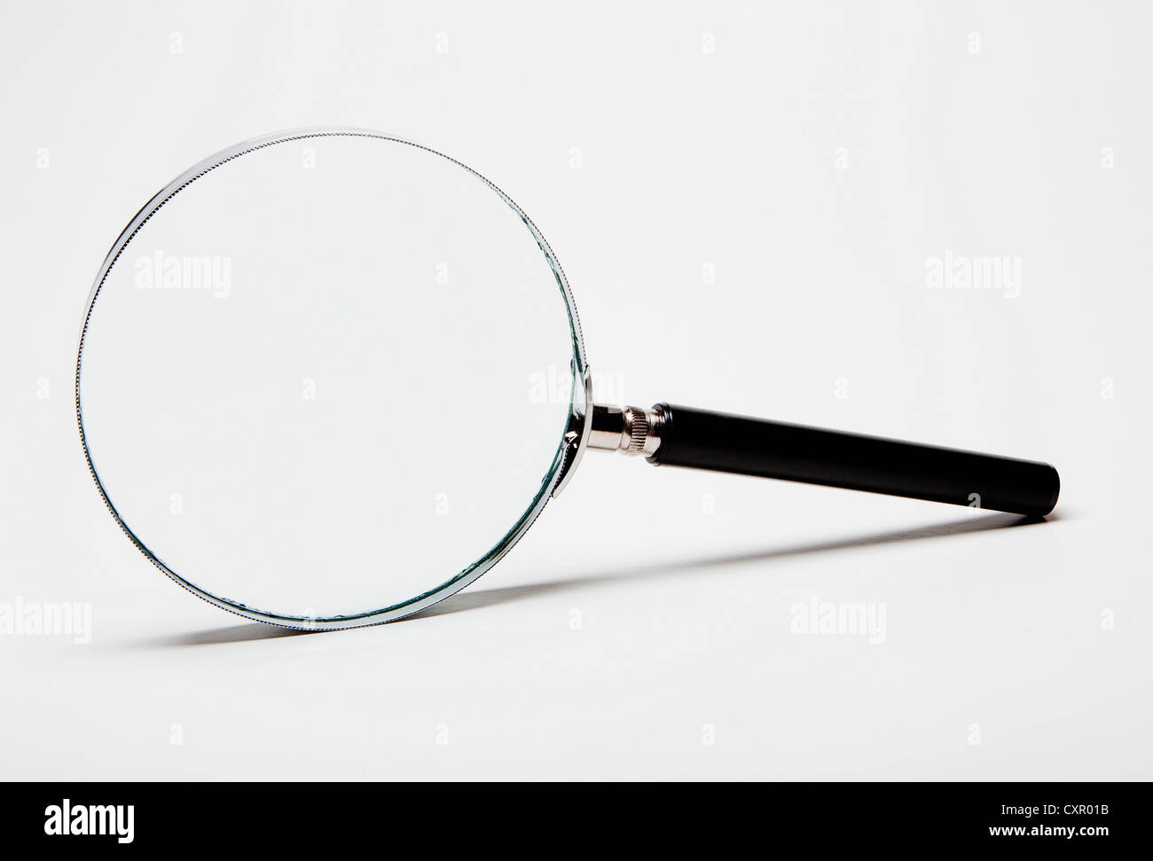 Magnifying glass Stockbild