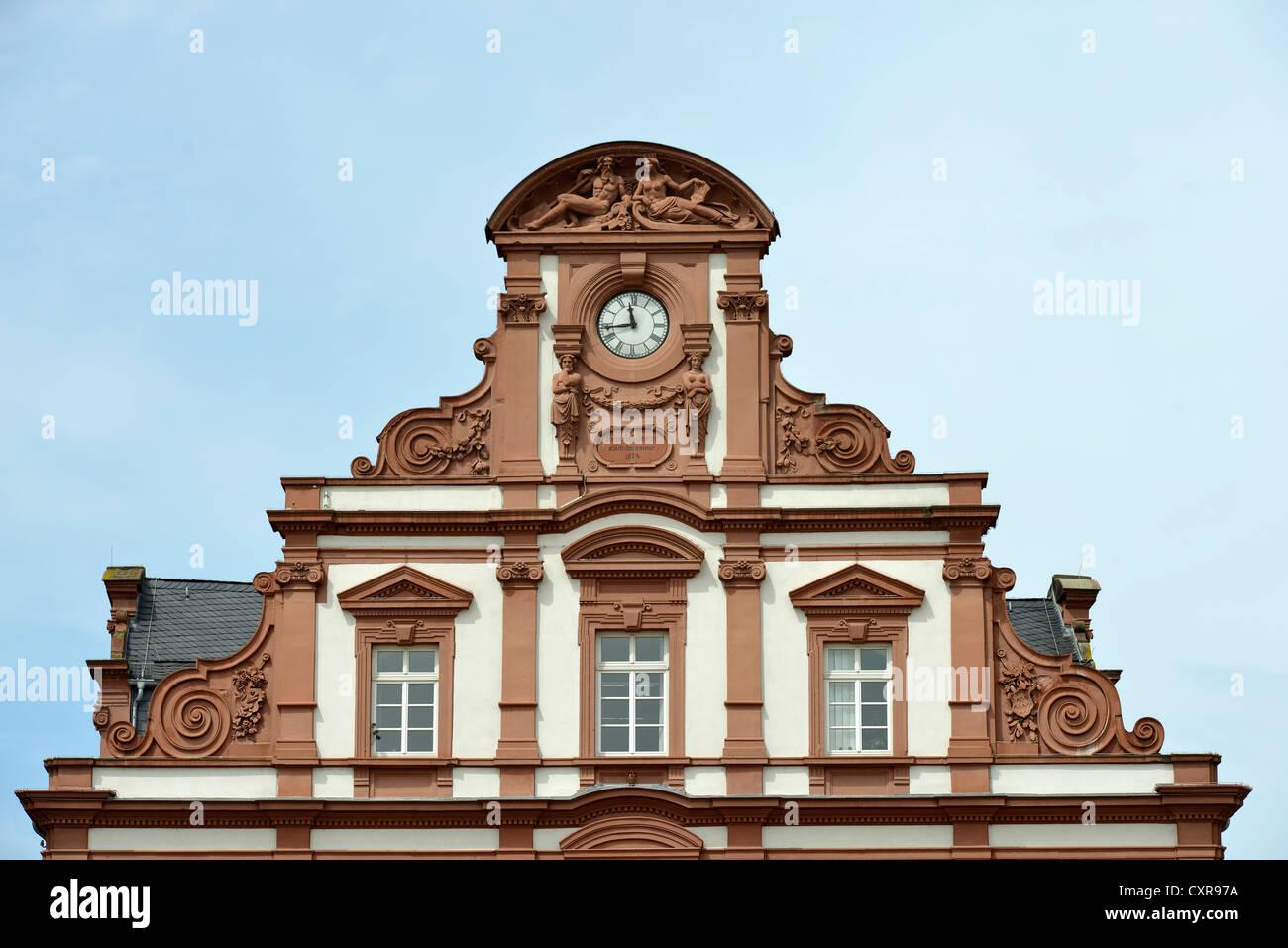 Giebel Mit Inschrift Henry Jester Alte Muenze Kaufhaus