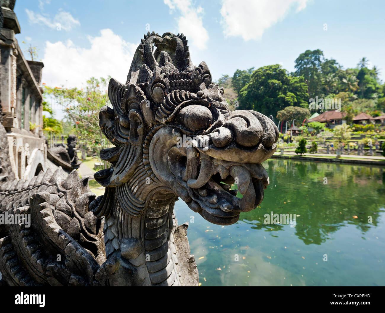 Wasserpalast Tirtagangga oder Tirta Gangga, in der Nähe von Amlapura, Ost-Bali, Bali, Indonesien, Südostasien, Stockbild