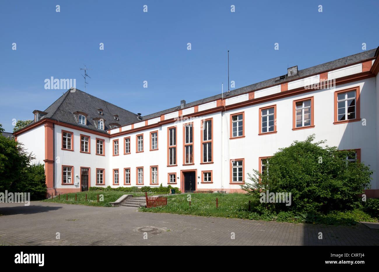 Ehemalige Schoenborner Hof, französische Studie Center, Institut Français, Maison de France, Mainz, Rheinland Stockbild