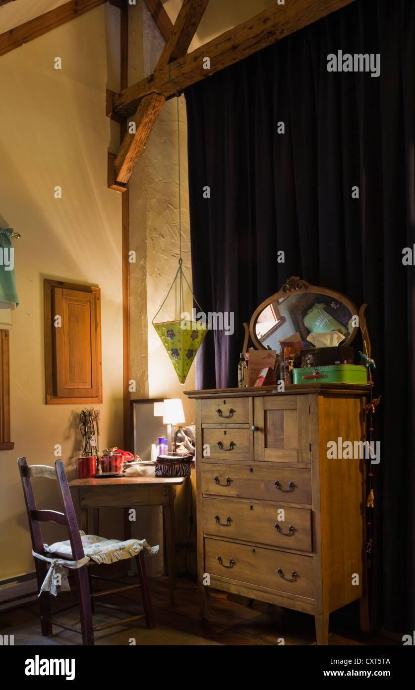 Fesselnde Schreibtisch Kommode Sammlung Von Antiker Stuhl, Schreibtisch, Und Möbel In Die