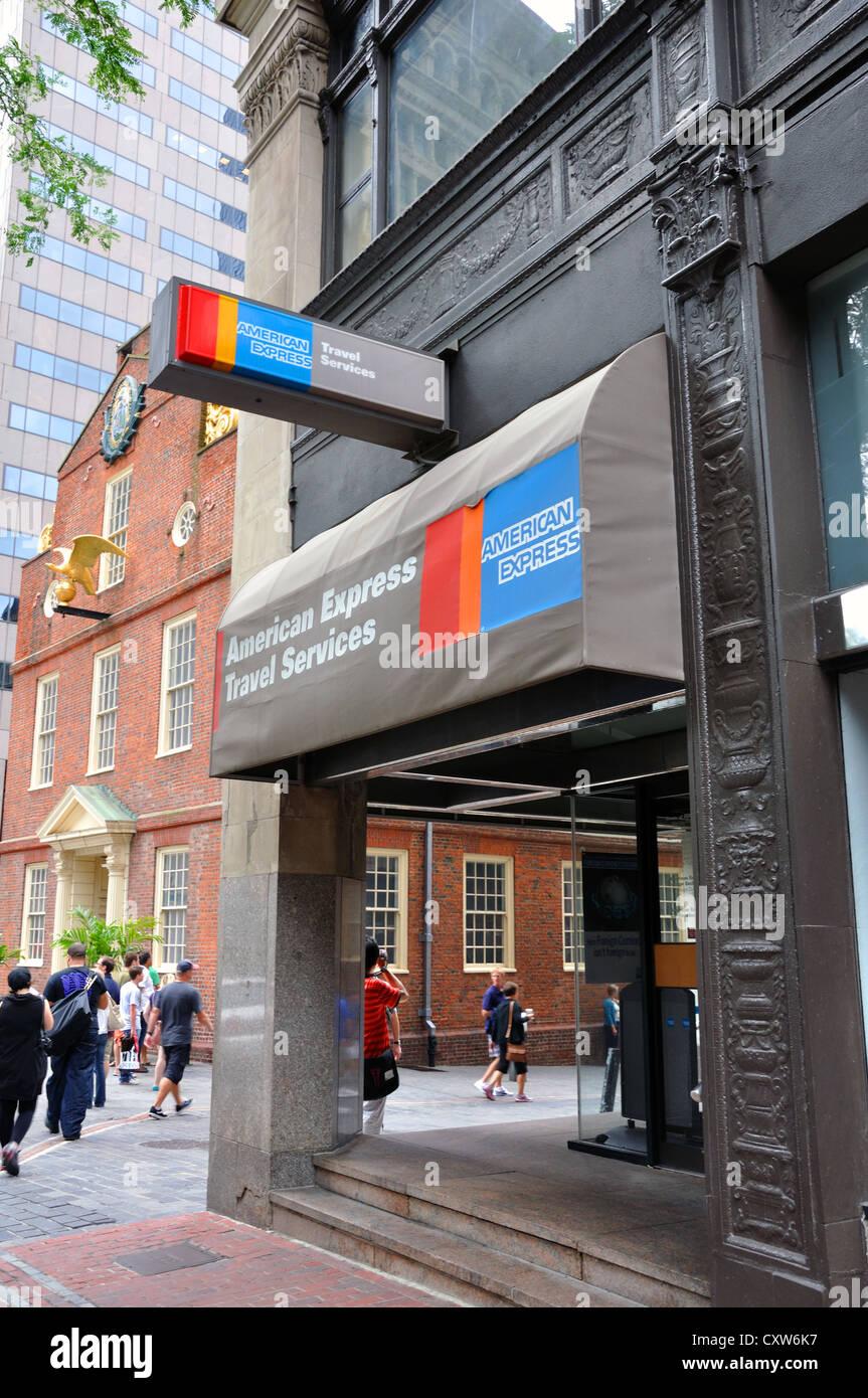 American Express Bank und Reiseleistungen, Boston, USA