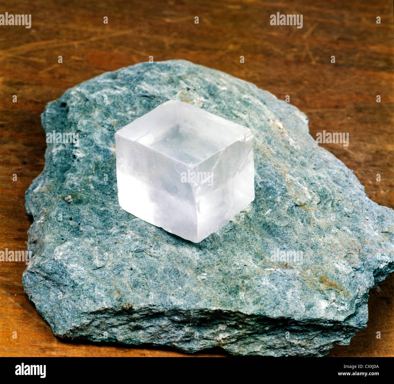 Salz, Halit Rock Stockbild
