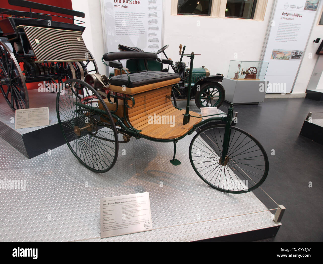 Benz 1886 Stockfotos & Benz 1886 Bilder - Alamy