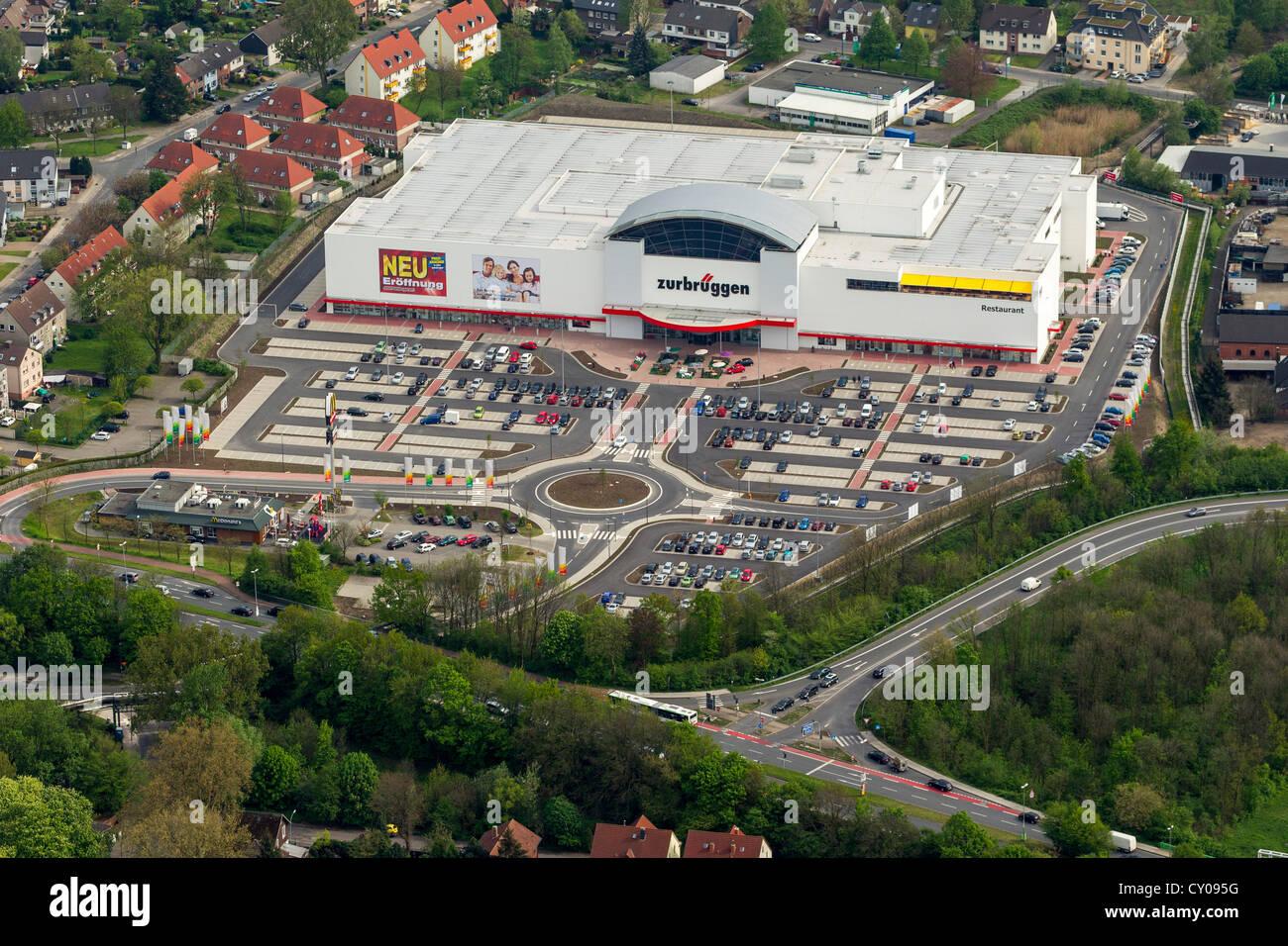 Luftbild Zurbrueggen Möbelhaus Herne Ruhrgebiet Nordrhein