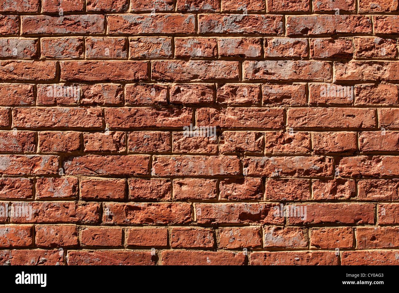 Ziegelmauer, PublicGround Stockbild