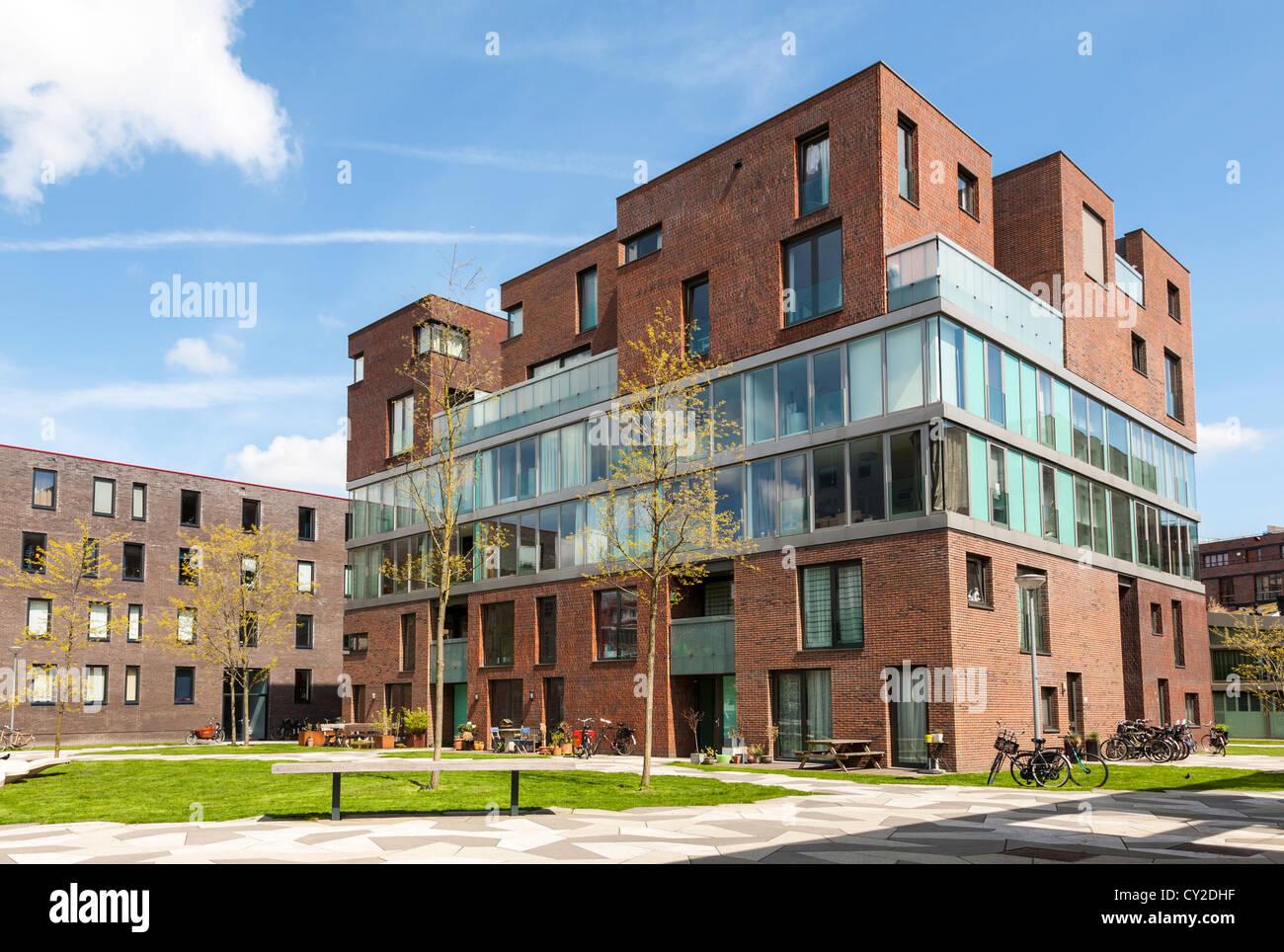 Contemporary Housing Amsterdam Netherlands Stockfotos & Contemporary ...