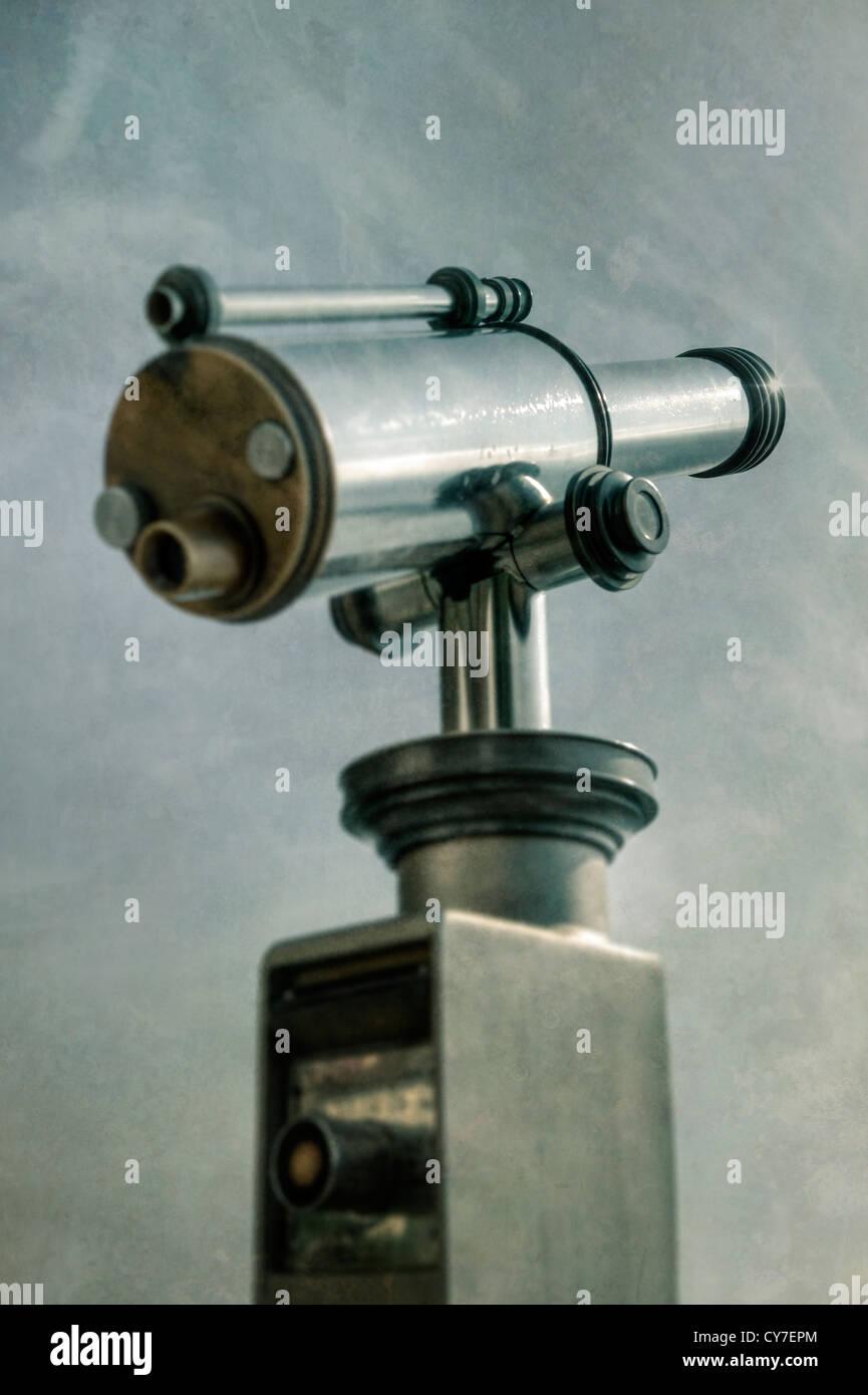ein Teleskop Stockbild