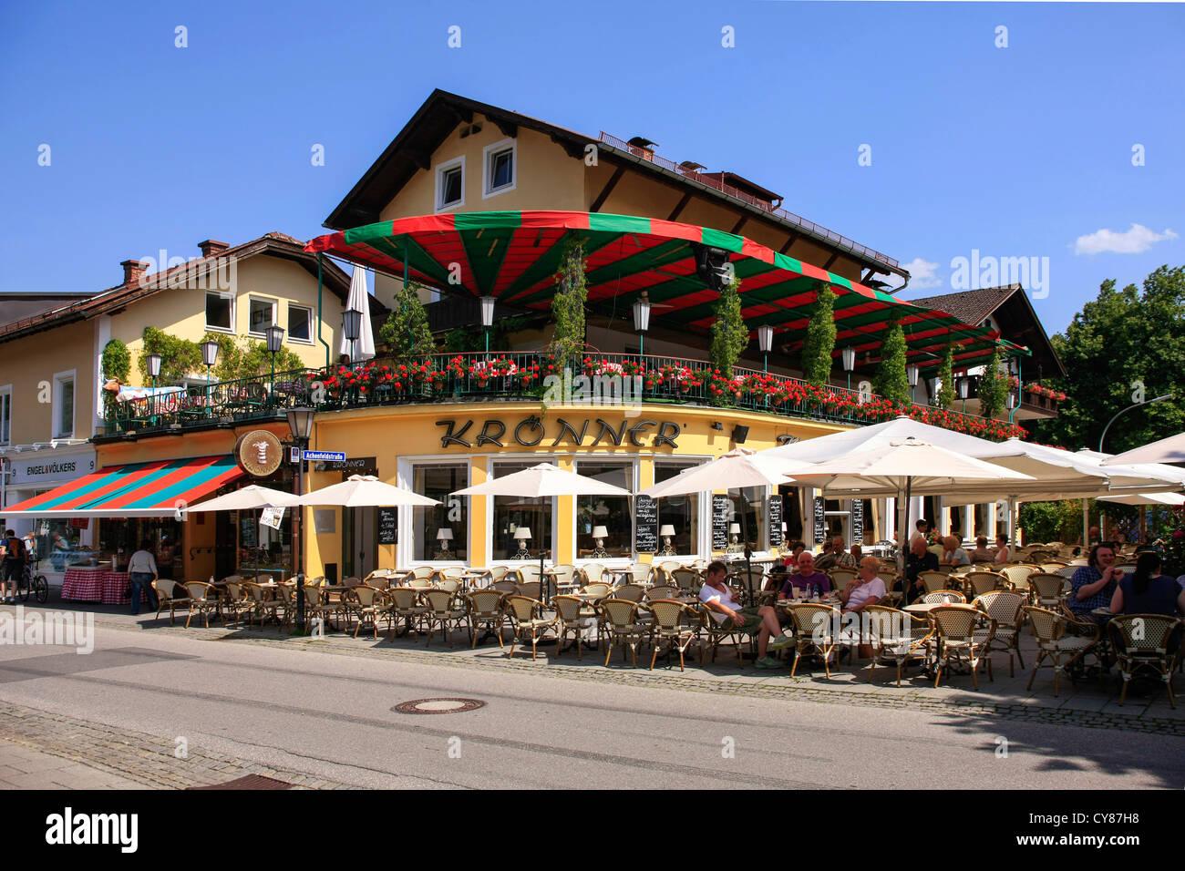 Cafe In Garmisch