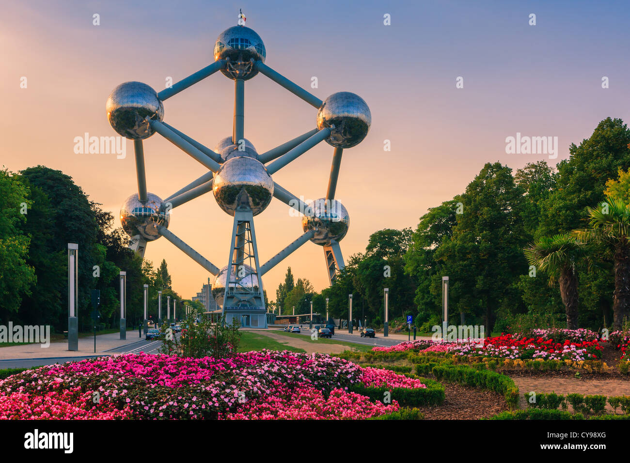 atomium brussels stockfotos atomium brussels bilder alamy. Black Bedroom Furniture Sets. Home Design Ideas