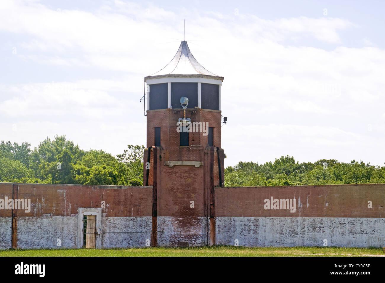 Wachturm an der ehemaligen Washington DC-Abteilung von Korrekturen ...