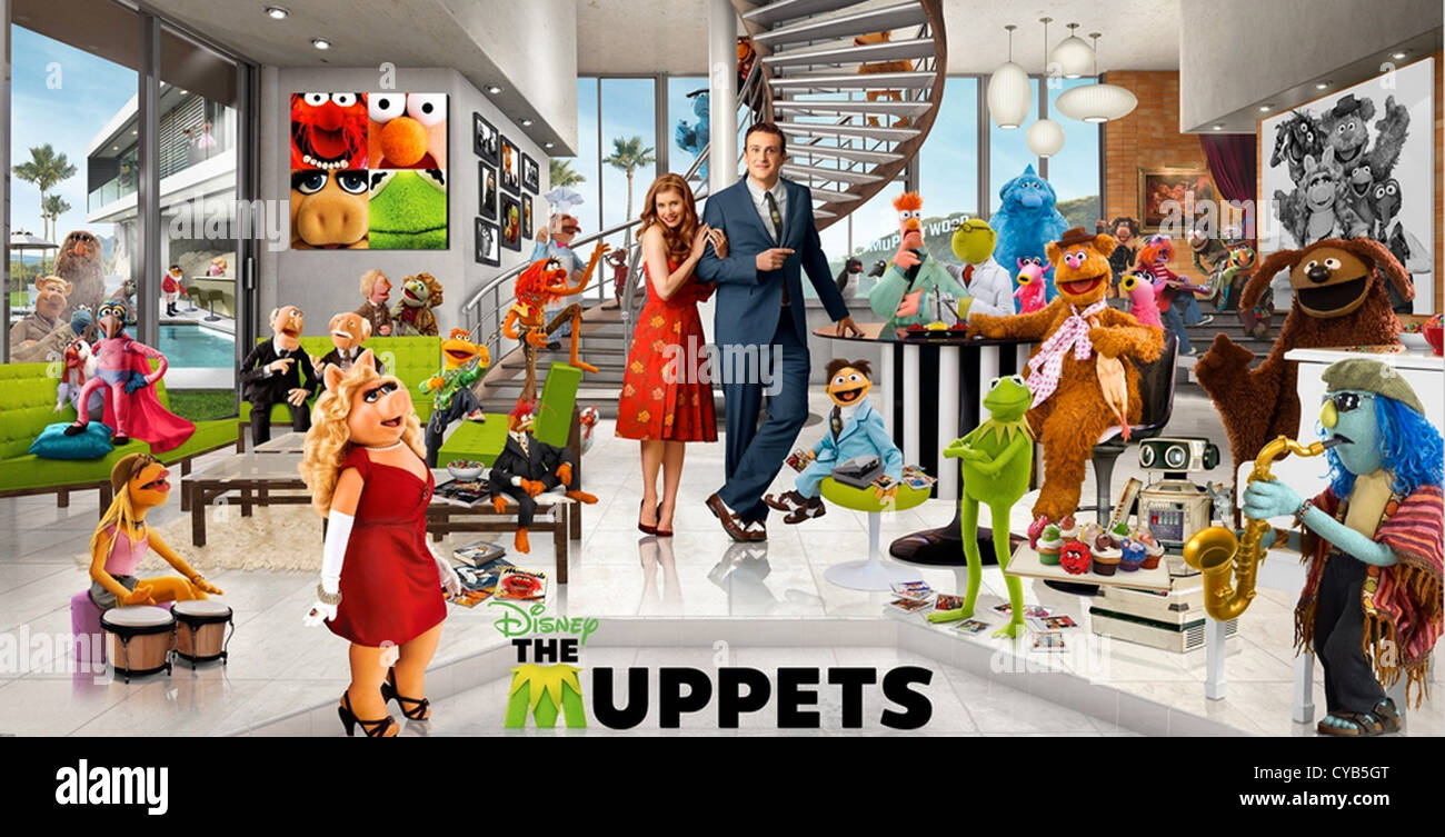DIE MUPPETS 2011 Walt Disney Pictures film Stockbild