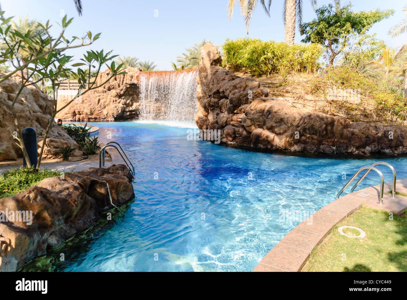 Wasserfall In Den Pool Des Hotel Emirates Palace, Abu Dhabi