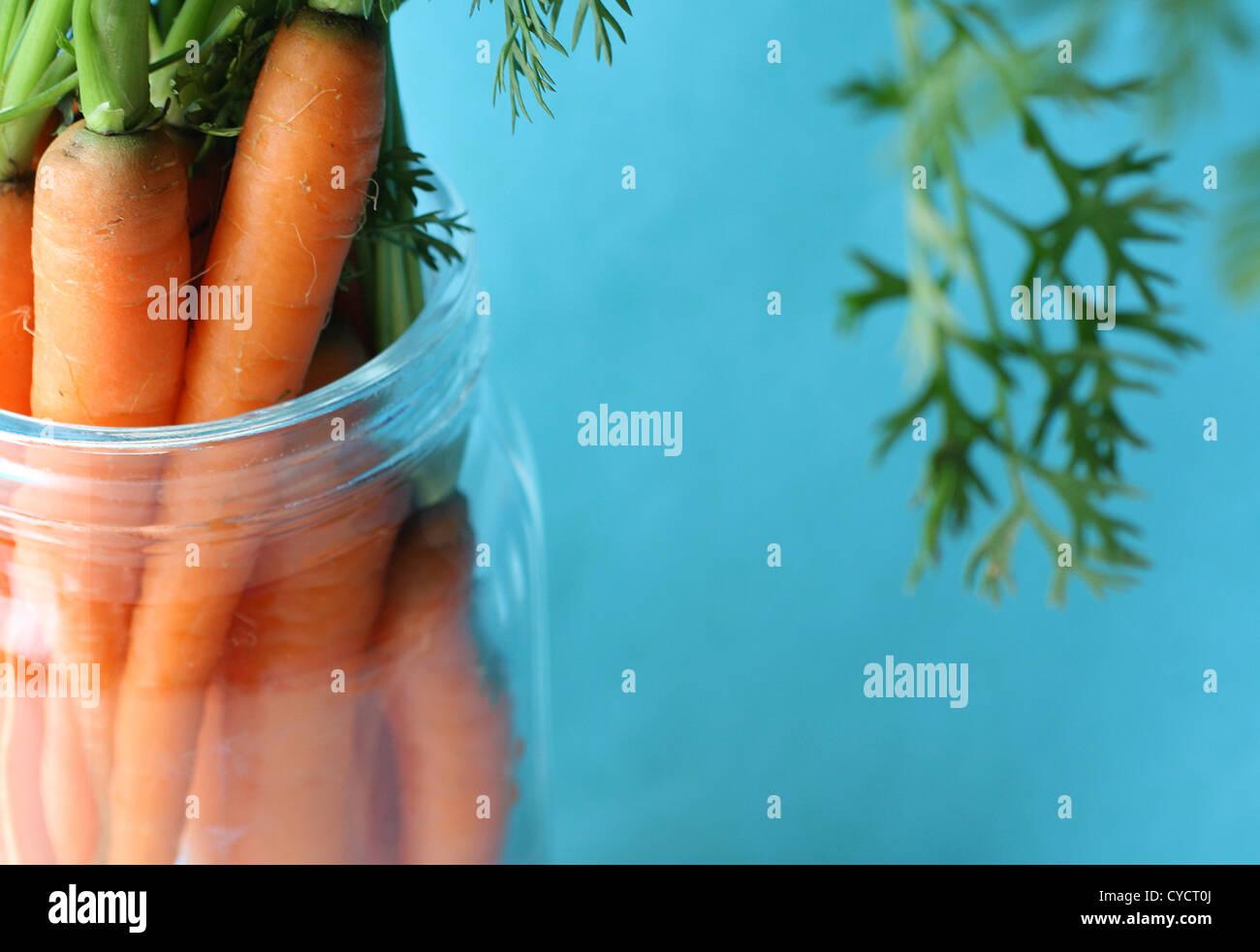 Gemüse, Karotten Stockbild