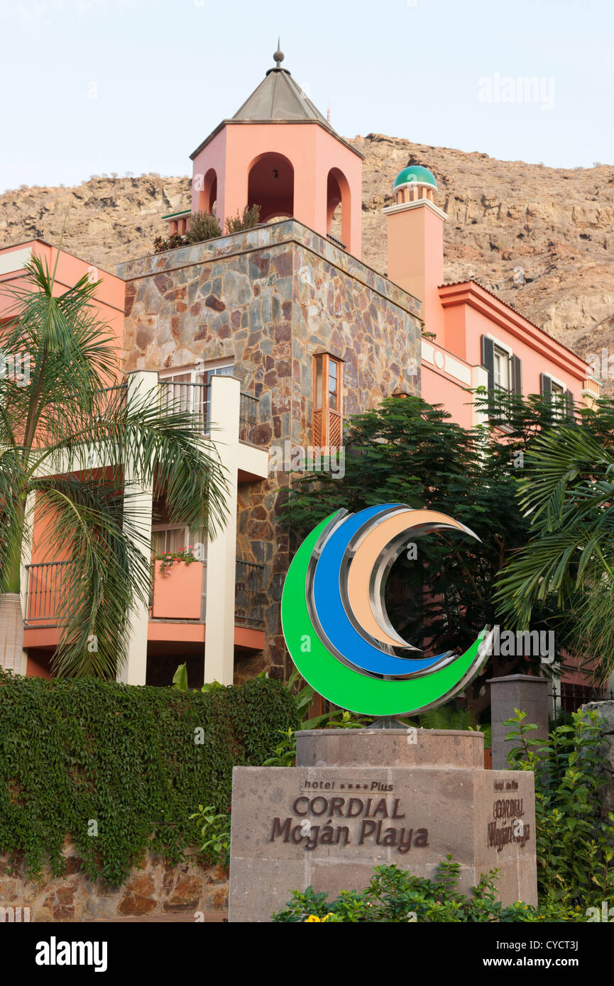Hotel Cordial Mogan Playa Stockfotos Hotel Cordial Mogan Playa