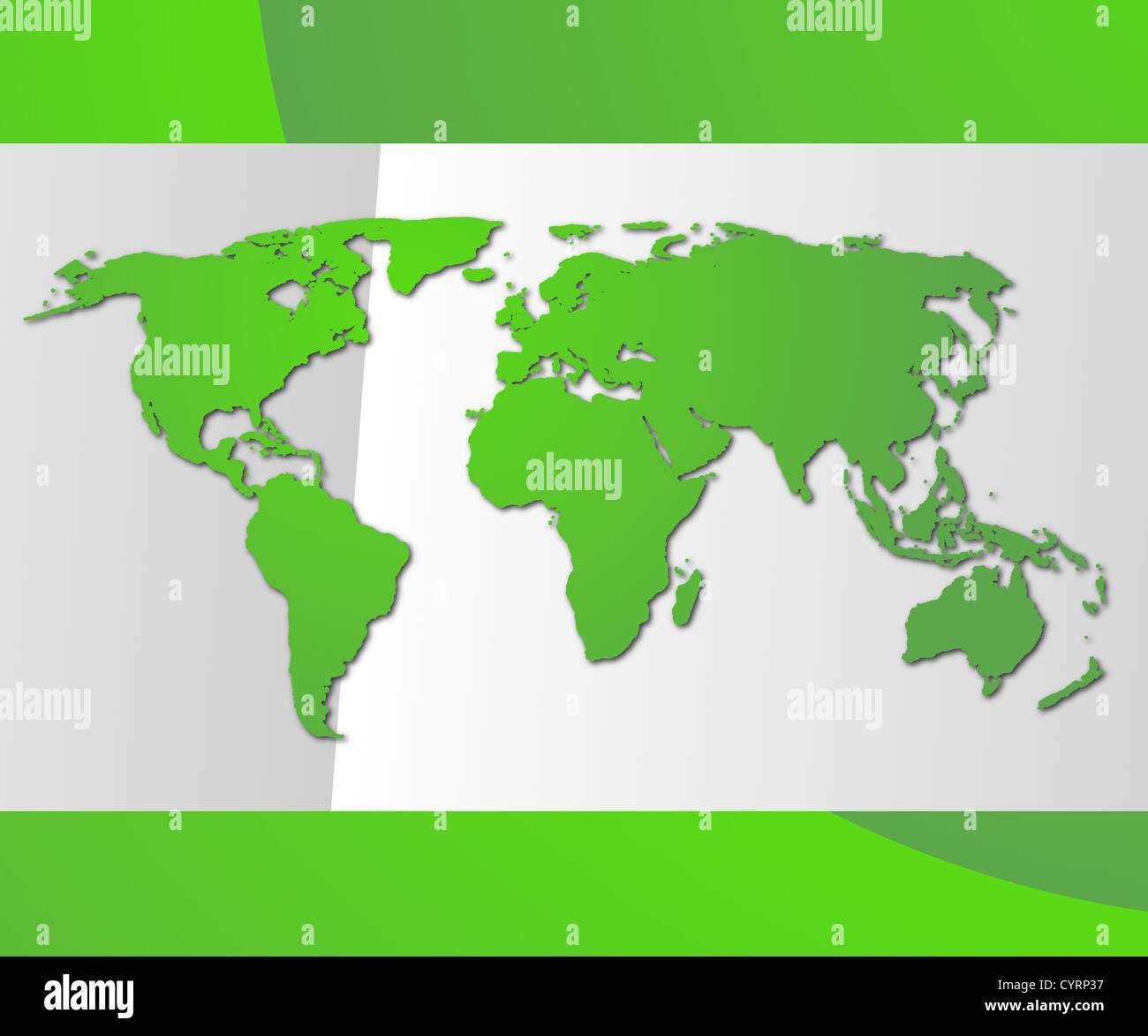 moderne Visitenkarte mit Exemplar zeigt globalen Kommunikation Stockbild