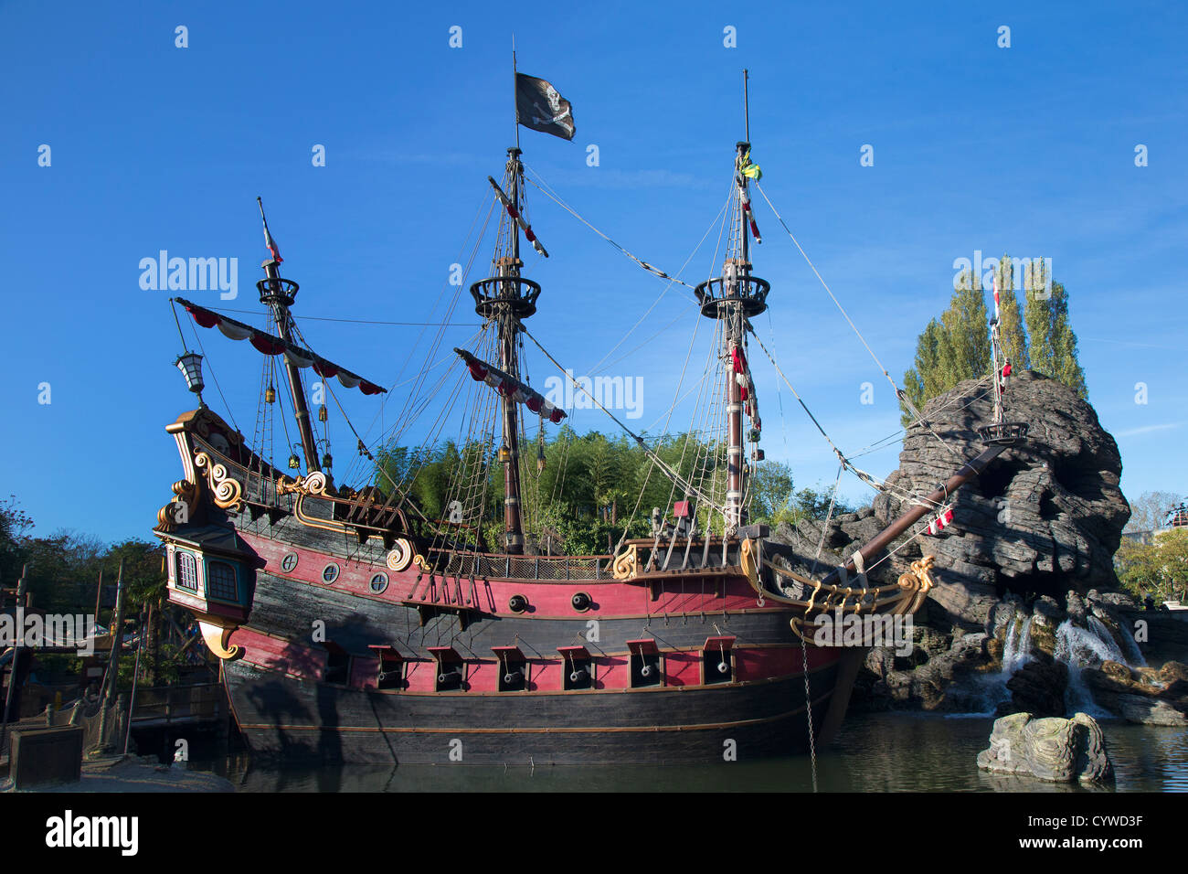 pirates of the caribbean stockfotos pirates of the caribbean bilder alamy. Black Bedroom Furniture Sets. Home Design Ideas