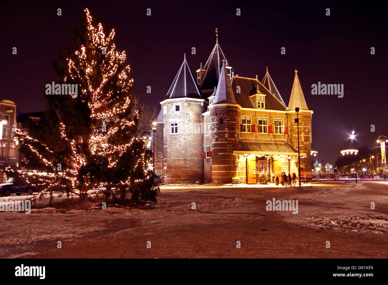 Weihnachten in Amsterdam Niederlande Stockfoto, Bild: 51668398 - Alamy