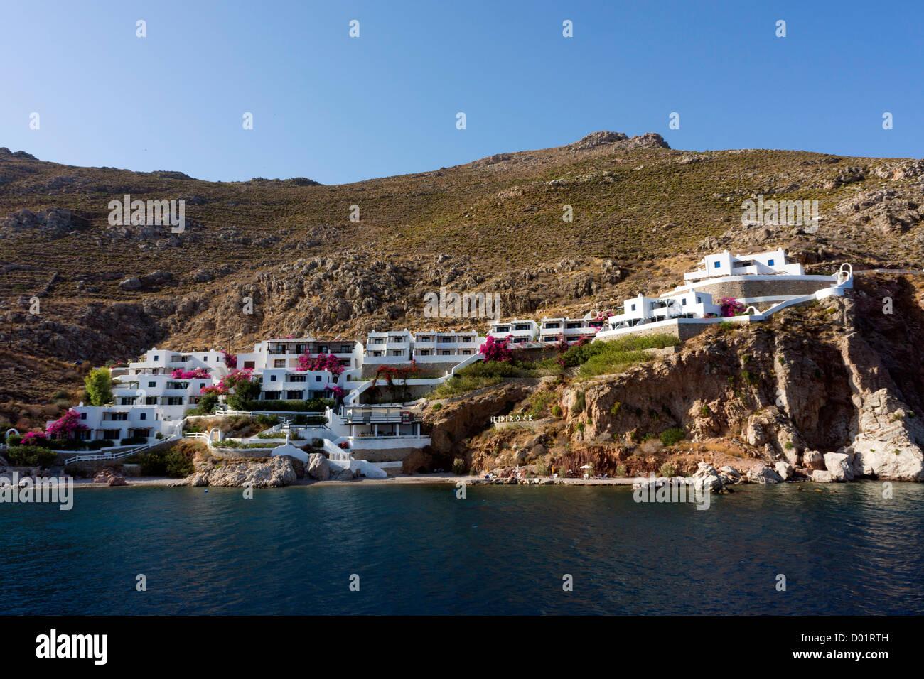 Livadia, Tilos, Dodekanischen, Griechenland Stockbild