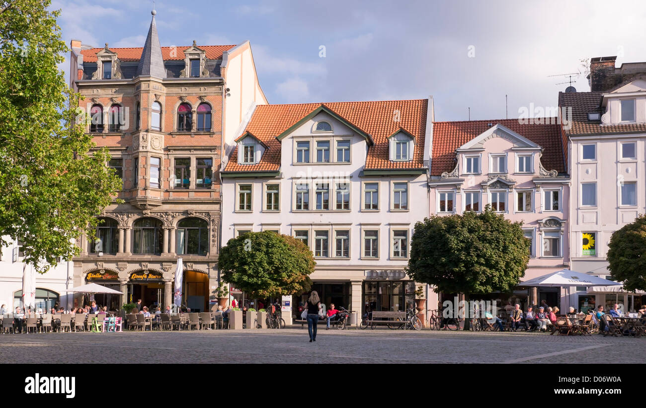 braunschweig old town market square stockfotos braunschweig old town market square bilder alamy. Black Bedroom Furniture Sets. Home Design Ideas