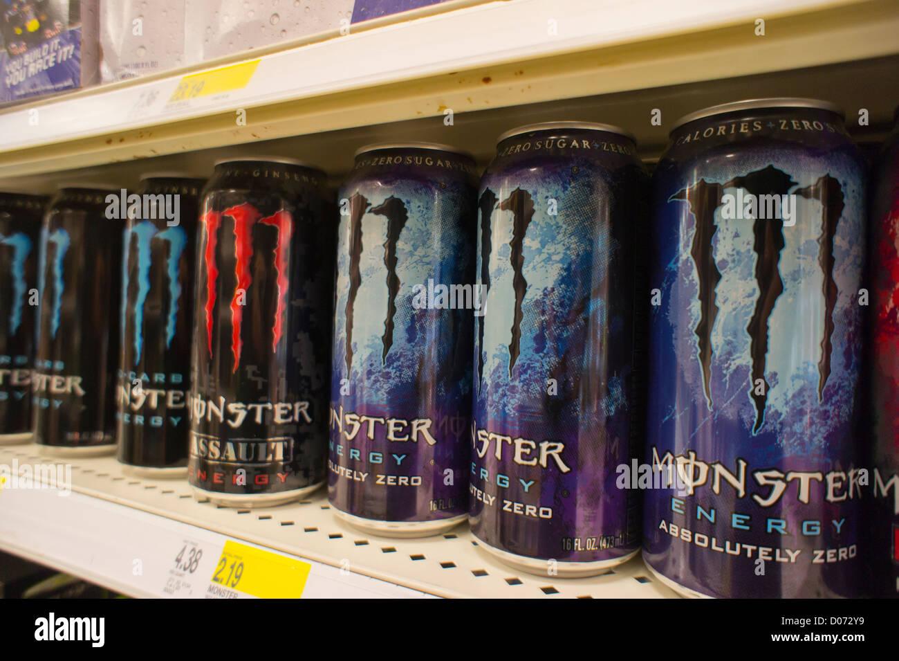Energy Drinks Store Stockfotos & Energy Drinks Store Bilder - Alamy