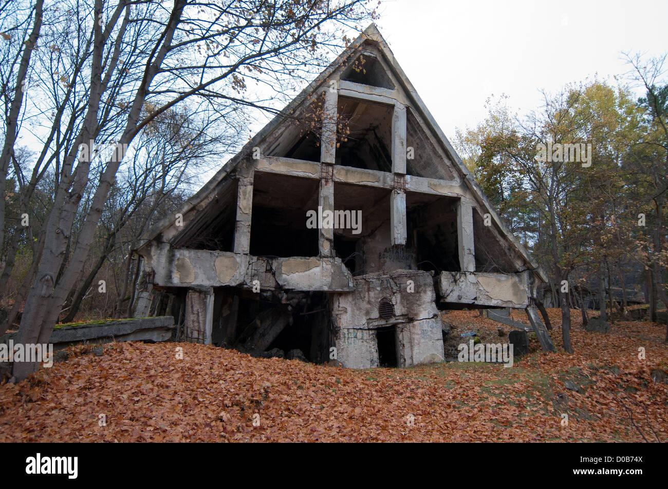 ruiniert deutsch zweiter weltkrieg bunker wuensdorf