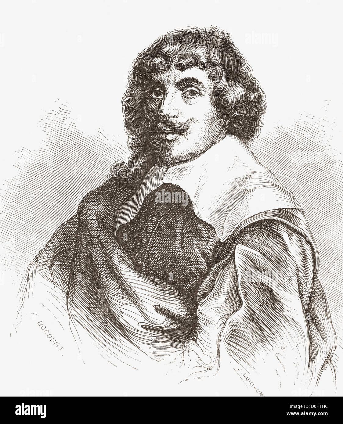 Gerard van Honthorst, 1590-1656. Holländisches goldenes Alter Maler. Stockbild