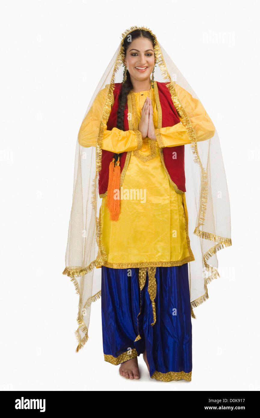indische Punjabi-Frauen