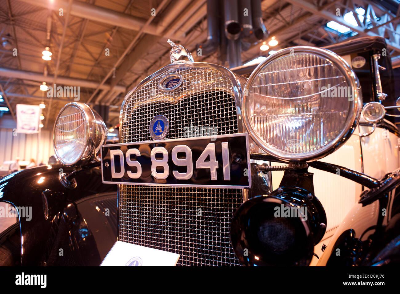 Ford Modellauto NEC Classic Motor Show Birmingham UK Stockbild