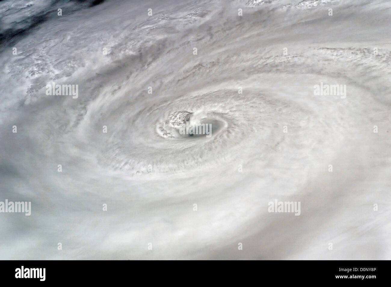 Hurrikan Dean Stockbild