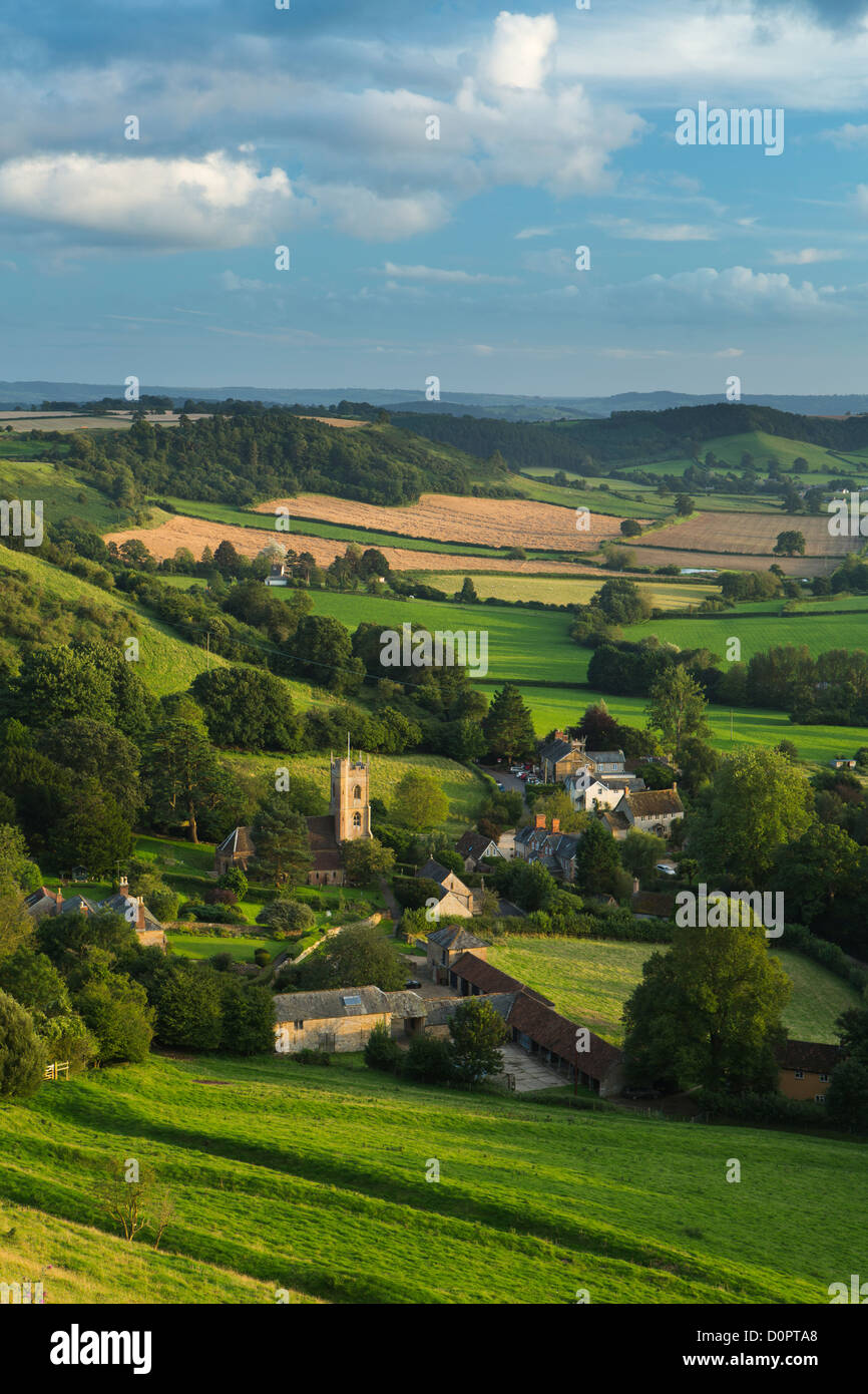 Corton Denham, Somerset, England, UK Stockbild