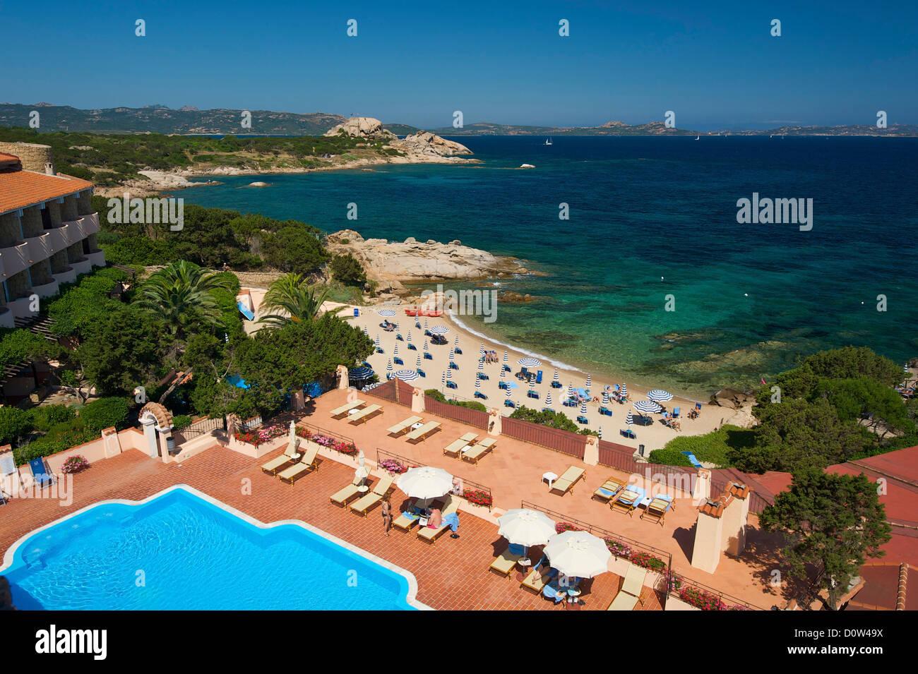 Grand Hotel Smeraldo Beach Porto Stockfotos Und Bilder Kaufen Alamy