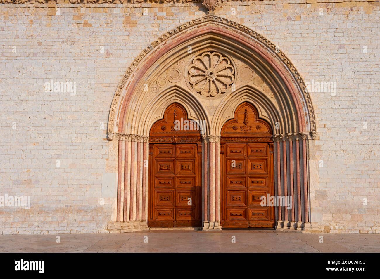 Assisi Saint Francis Basilica Italy Stockfotos & Assisi Saint ...