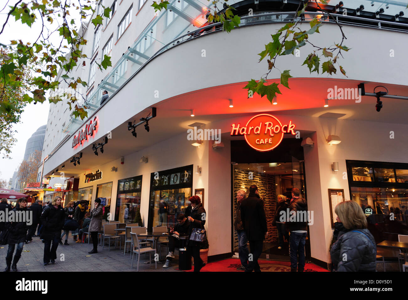Hard Rock Cafe Berlin Stockfoto Bild 52228093 Alamy