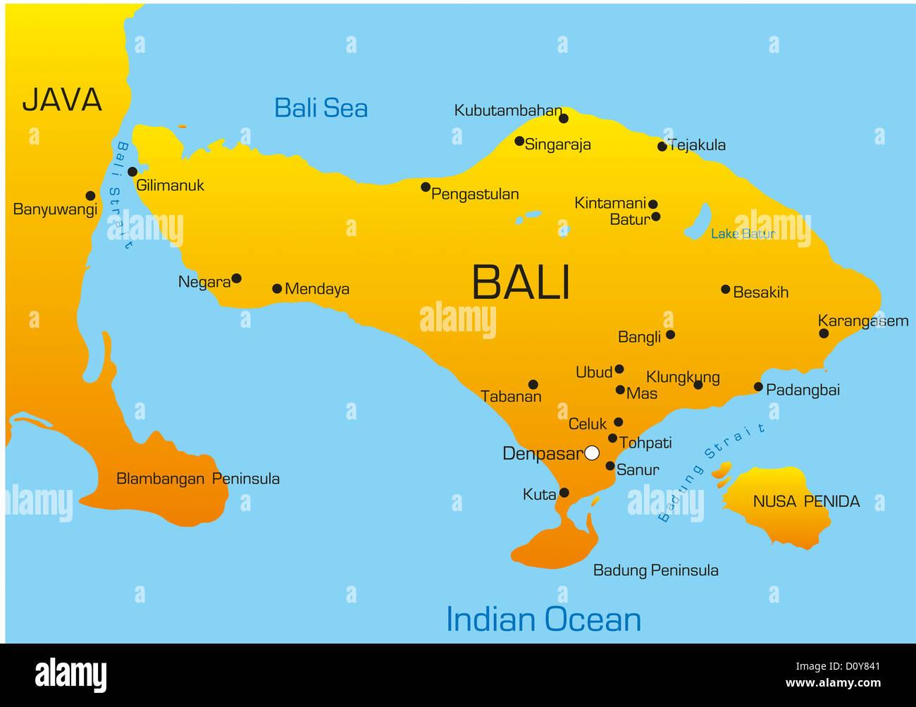 Bali Map Stockfotos & Bali Map Bilder - Seite 3 - Alamy