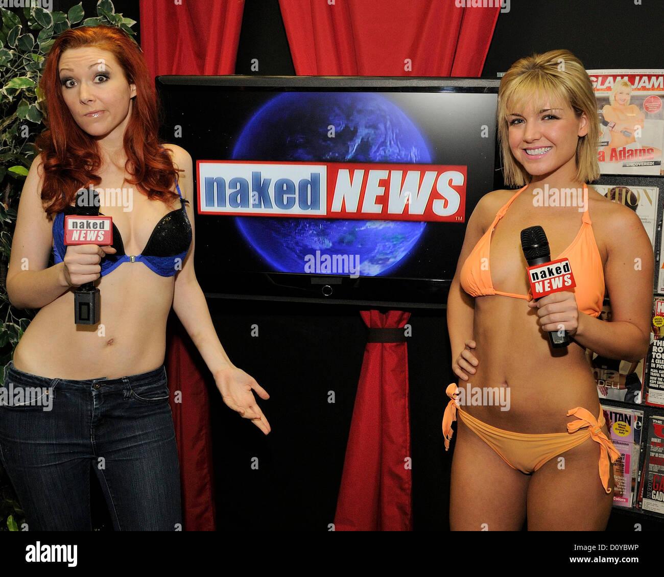 ThrowBackThursday - Naked News Stand Up | Yuk Yuks Blog