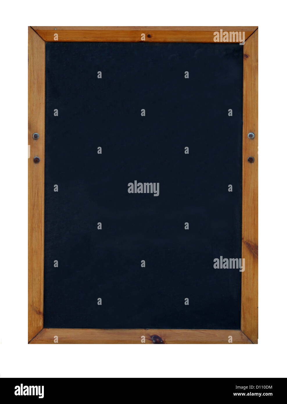 Blanko schwarz oder Tafel mit Textfreiraum. Stockbild