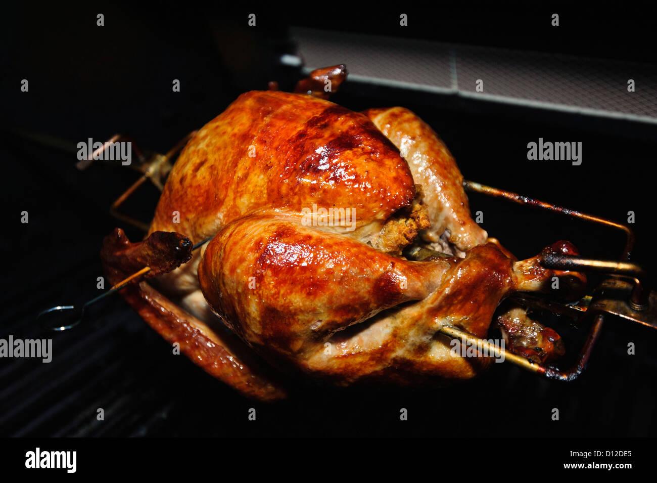 Thanksgiving Turkey Cooked Stockfotos & Thanksgiving Turkey Cooked ...
