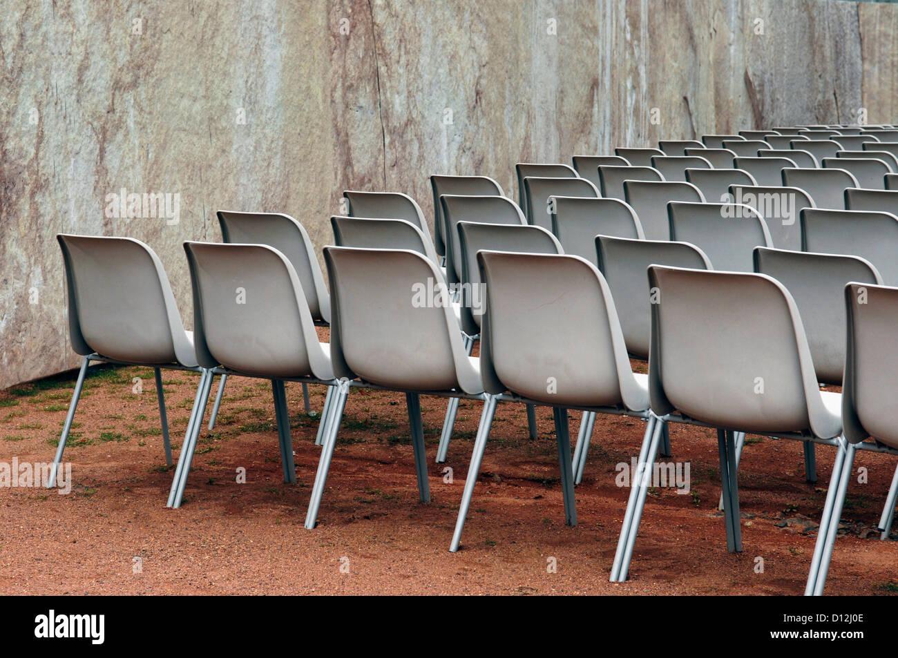 Für Air Stockfotosamp; Open Stuhlreihe Veranstaltung yf6bY7g