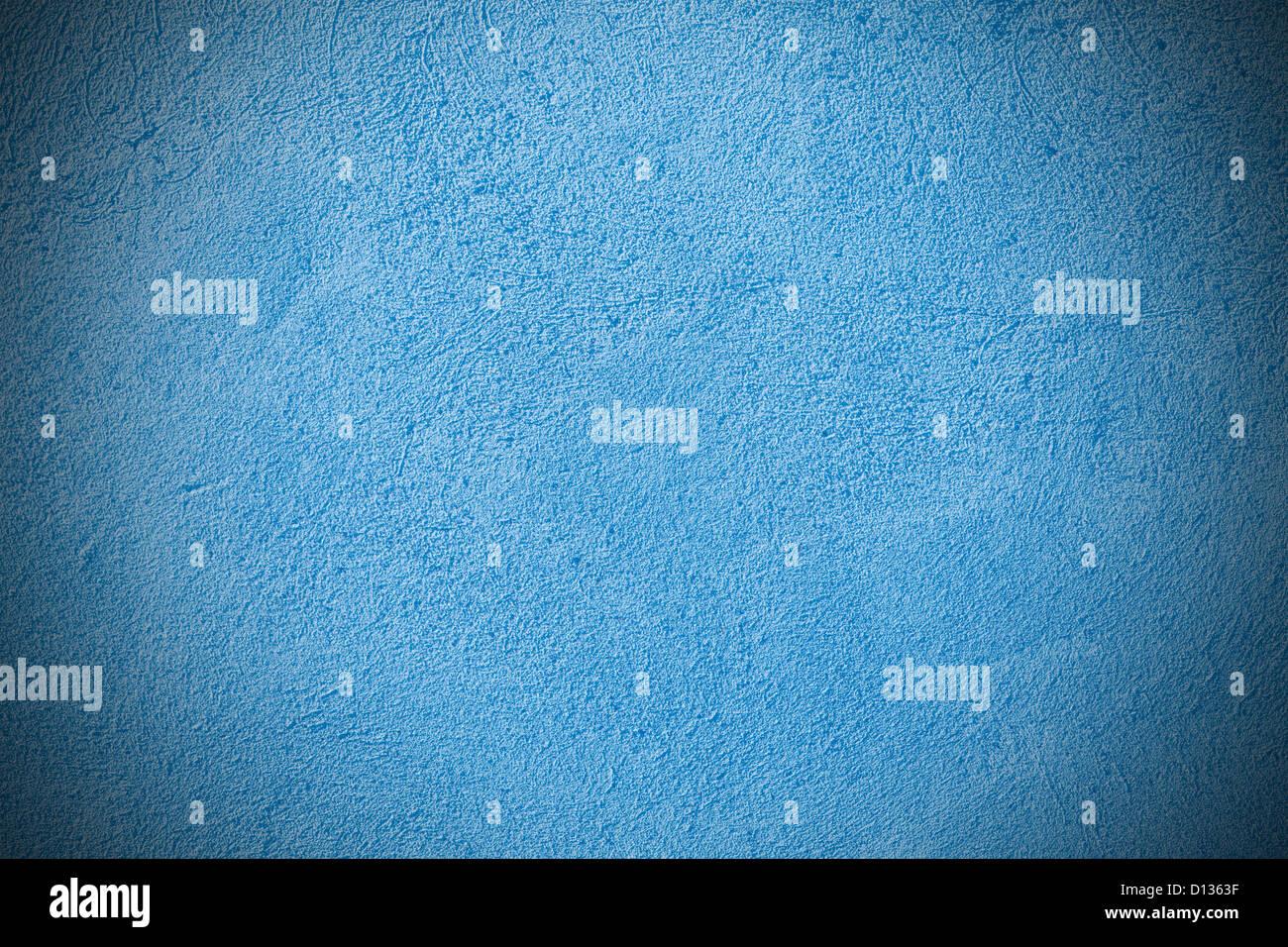Blaue Alte Wand Verputzen Hintergrund Mit Rauen Beschaffenheit Stockbild