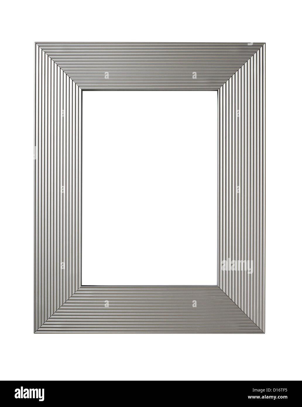 Silber Bilderrahmen Metall-finish Stockfoto, Bild: 52396713 - Alamy