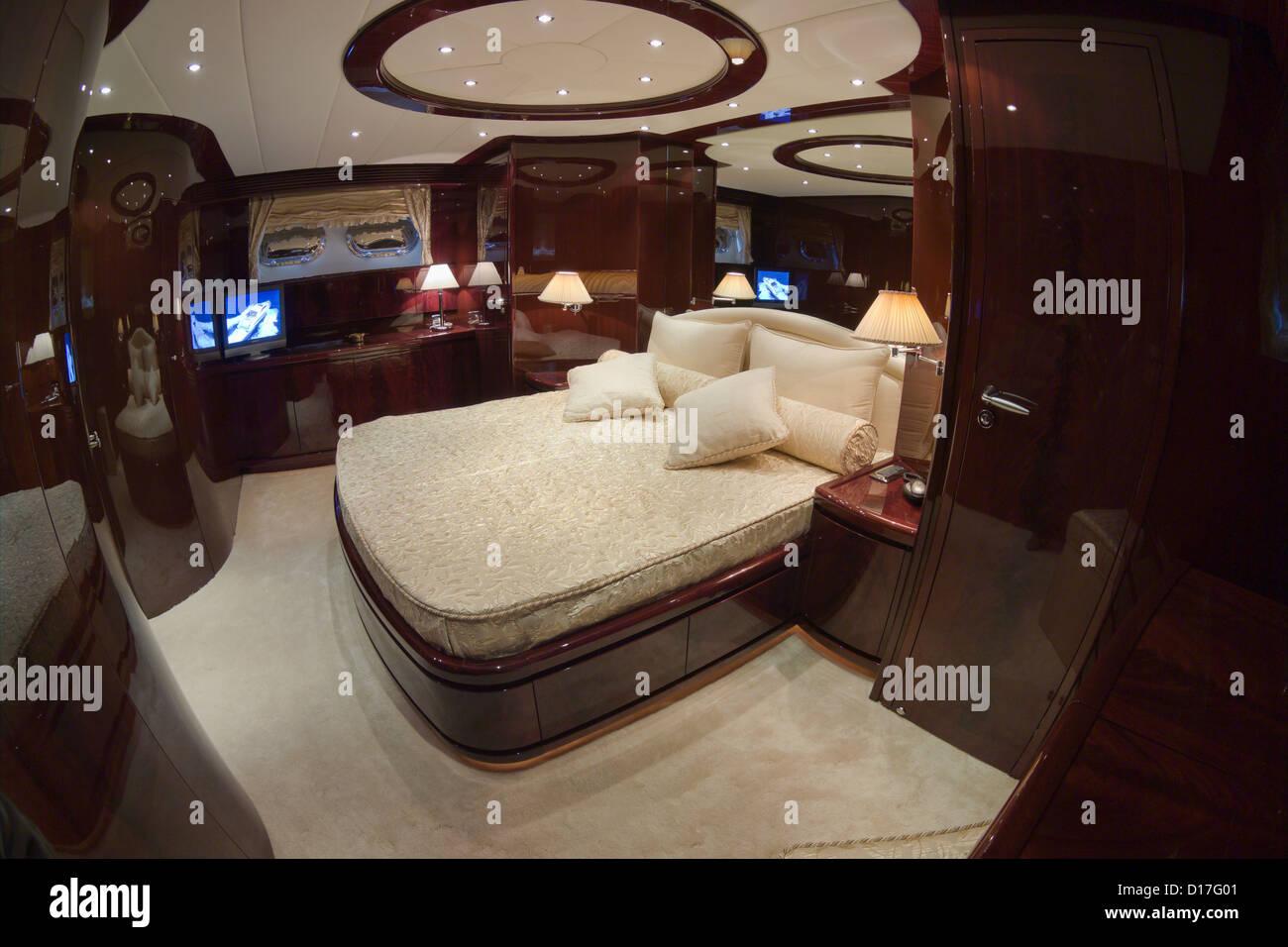 Italien, Toskana, Viareggio, Tecnomar Nadara 88\' Fly Luxus-Yacht ...